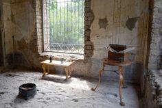 Villa Imperiale, la diaeta, stanza dedicata al riposo e alla lettura. #pompeii…