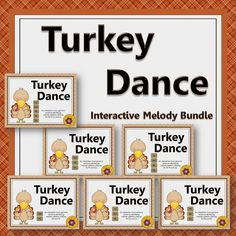 Your students will have lots of fun aurally identifying melodic patterns with these interactive games! Excellent resources for the Orff and Kodaly elementary music room especially around November or Thanksgiving.