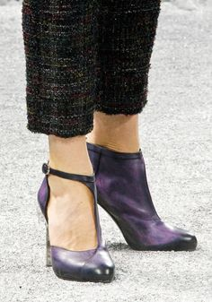 Chanel shoes/boots.