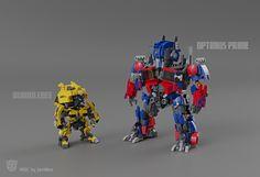 Ironhide Transformers, Lego Transformers, Transformers Bumblebee, Lego Design, Robot Design, Hacking Books, Pokemon Fusion Art, Lego Robot, Lego Mechs