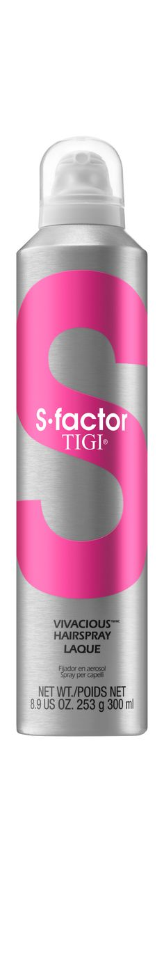 S-factor by Tigi Vivacious Hairspray Laque 300ml.