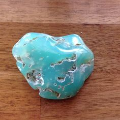Australian Chrysoprase Raw Natural Crystal Stone by Shazesloveofstones on Etsy