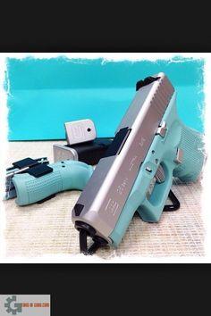 Gun of the Day – Custom Painted Glocks