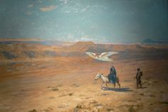 The Flight into Egypt - Jean-Leon Gerome