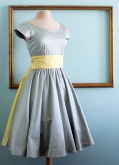 50's rockabilly dresses, retro style bridesmaids dress, modest clothing with sleeves - ASHLEY style. $159.00, via Etsy.