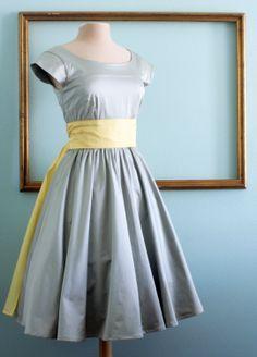 50's rockabilly dresses, retro style bridesmaids dress, modest clothing with sleeves - ASHLEY style. $159.00, via Etsy.