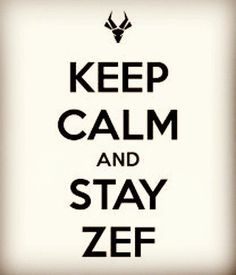 Stay zef!!