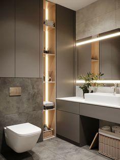 Toilet And Bathroom Design, Bathroom Lighting Design, Toilet Design, Bathroom Design Luxury, Bathroom Layout, Home Room Design, Home Interior Design, Dressing Room Design, Bathroom Design Inspiration