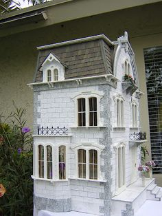 The Willowcrest...Dollhouses by Robin Carey