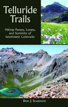This is a handy pocket guide for the day hiker with easy-to-follow directions to the high country and peaks surrounding Telluride and beyond. Helpful maps are included at the beginning of each chapter