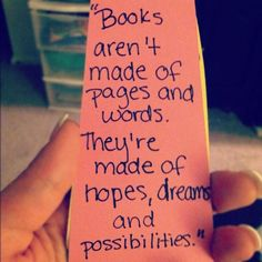 Incredible things happen beyond the pages of books!