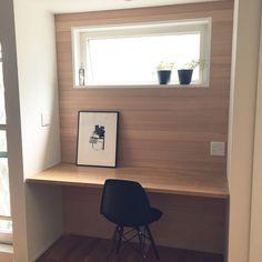 My Desk/造作家具/お気に入りの場所/無垢材/塩系インテリア/スタディーカウンターのインテリア実例 - 2016-07-25 11:31:04   RoomClip (ルームクリップ)
