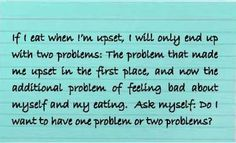 Healthy response #2 to emotional eating urge when stressed from Judith Beck, PhD