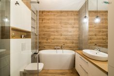 Attic Bathroom, Decoration, Home Deco, Alcove, Design Projects, Bathtub, House, Inspiration, Tattoos