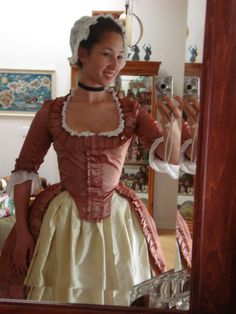 Polonaise Version by Lady-Lovelace on DeviantArt 18th Century Dress, 18th Century Costume, 18th Century Clothing, 18th Century Fashion, Historical Costume, Historical Clothing, Rococo Dress, Old Dresses, Period Outfit
