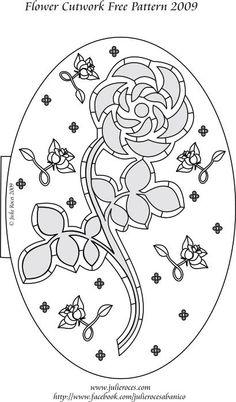rose cloisonnée