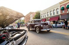 Depot Town Cruise Nights in Ypsilanti, Michigan Every Thursday | June - September