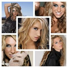 KE$HA ♥ When I was born she was 12 years old. Kesha was born on March 1, 1987 (Los Angeles, California). She is Pisces, so her element's water. ♓