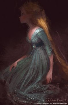 Claire Keane. Rapunzel. All the art for this film was absolutely stunning on every level!