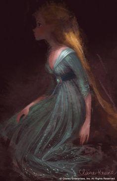 Claire Keane. Rapunzel.