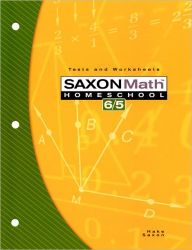 Saxon Math 6/5 Homeschool: Testing Book 3rd Edition / Edition 1 by Houghton Mifflin Harcourt Download