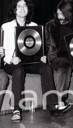 Jimmy Page and John Bonham: