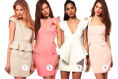 Peplum Dresses Styles