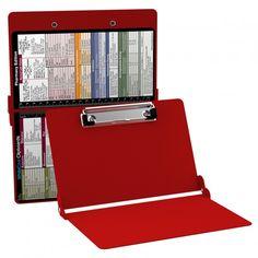 d7b52b9fedf2 WhiteCoat Clipboard - RED - Pharmacy Edition  25.95  MDpocket  Clipboard   Pharmacy  Red