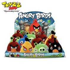 Bir IPhone oyunu olarak yaratılan ve kısa zamanda beğeni toplayan Angry Birds, ANKAmall Toyzz Shop'ta!