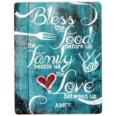 Bless the Food Before Us Wooden Magnet | Shop Hobby Lobby