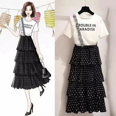 Elbise Fashion Design Drawings, Fashion Sketches, Pop Art Fashion, Girl Fashion, Fashion Drawing Dresses, Fashion Dresses, Girl Outfits, Casual Outfits, Cute Outfits