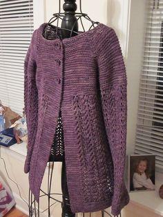 JunieBJersey's February Lady Sweater in Blue Moon's Socks That Rock
