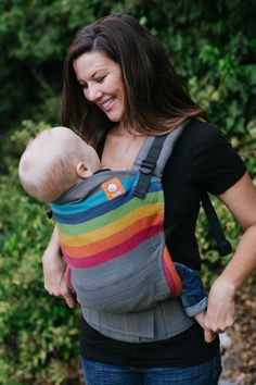 (Standard Size) Full Wrap Conversion Tula Baby Carrier - Girasol Brite Medio