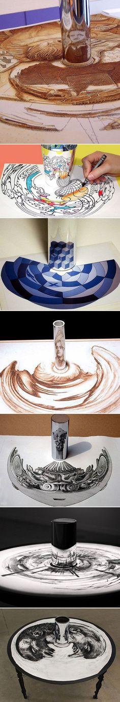 Anamorphic Artworks: