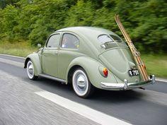 1951 Volkswagen Beetle Split Window