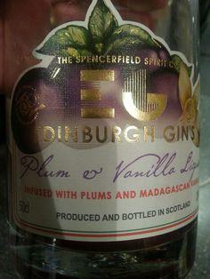 Plum and vanilla liqueur - Edinburgh Gin Vanilla Liqueur, Edinburgh, Gin, Plum, Bottle, Flask, Jeans, Jars, Jin
