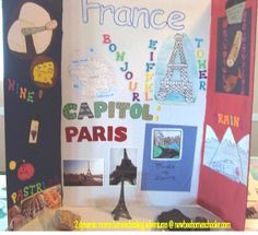 Not Back to School Geography Quest - France