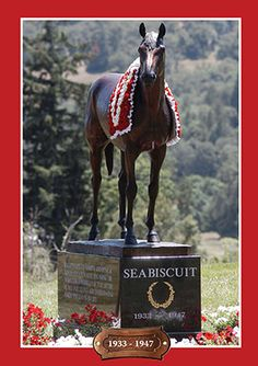 Seabiscuit - Legendary Racehorse... the ranch Seabiscuit lived on... I want to visit. This is in Willits, CA.