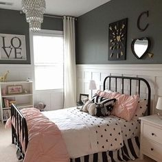 Decorating a children's room is a challenge, but also a pleasure, because you create a space that will be inspiring, imaginative, and pleasing to your child. The children's rooms can be decorated thematically, depending on your child's preference. For young athletes, decorate the room in athletic style, for cartoons lovers with … * Read more at the image link. #diyhomedecor