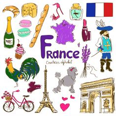 Help your child study France and all of its wonderful offerings with the help of this download! #geography #France #EuropeanCountries