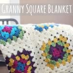 Patching Up My Granny Square Blanket