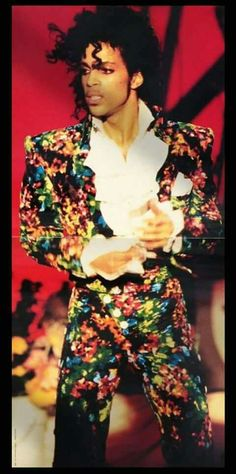 No other man can wear this and look this good except Prince