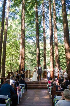 Amphitheatre of the Redwoods | Wedding and Events Venue | Santa Cruz, CA | Photo By Sphynge Photography