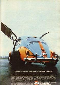 Gulf 1971 I can fly! | Motorkultur
