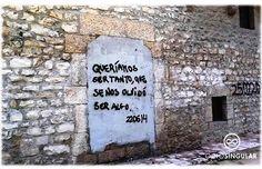 Lo que los muros nos dicen...
