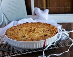 Peach Strawberry Blueberry Crumble Dessert and 4th of July recipes