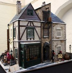 Dozens of wonderful Dickensian dolls' houses have been thrilling crowds of thousands in Deventer, for the Netherlands Dickens Festijn.