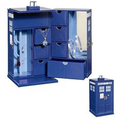 Doctor Who TARDIS Jewelry Box: You'll never have too much bling to fit in here! www.entertainmentearth.com