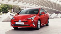 2016 Toyota Prius Red Car HD Wallpaper | Car Pixo