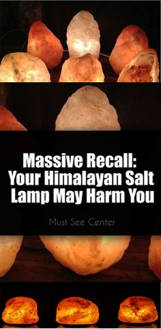 Recalled Salt Lamps Glamorous So Well Salt Lamps Sale Items  ✽Neon & Sodium✽  Pinterest Design Decoration